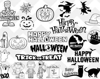 halloween svg, halloween bundle svg, witch svg, trick or treat svg, happy halloween svg, pumpkin svg, svg, png, cut file