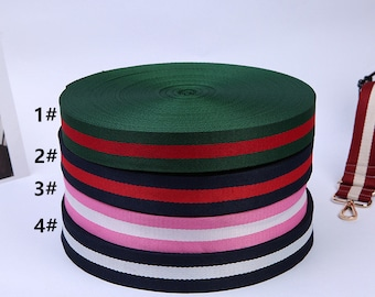 3.8cm Ribbons,green red ribbons,blue red striped Ribbon trim,colorful ribbons