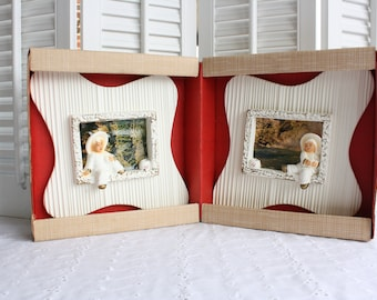 Chalkware plaques- Free Shipping