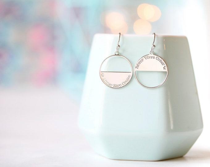 NEW! Pair of earrings MOONLIGHT