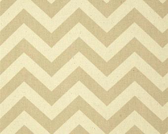 Khaki and Natural Home Dec Fabric - One Yard - Premier Prints Fabric
