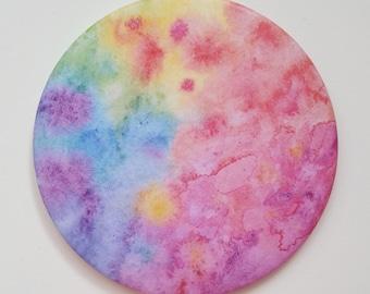 "pocket mirror ""rainbow world"""