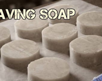 All Natural Shaving Soap