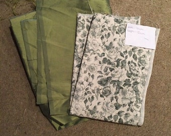 Fabric For Crafts - Green