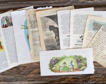 Vintage Children's Pages