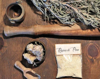 Pine Resin, 5 sachets of natural incense
