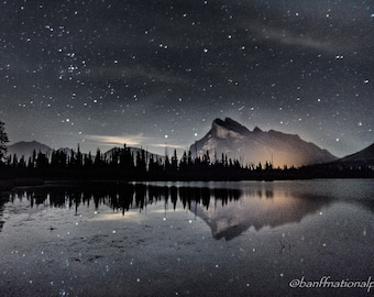 Vermillion Lakes Fine Art Photography Print