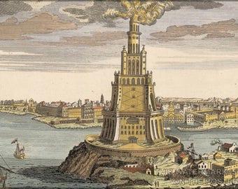 Poster, Many Sizes Available; Lighthouse Of Alexandria Pharos Of Alexandria