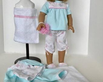 American Girl Doll: Warm Nights Cool Nights In Aqua