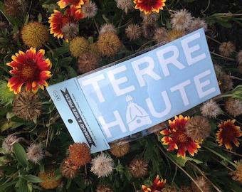 Terre Haute, Indiana Vinyl Decal