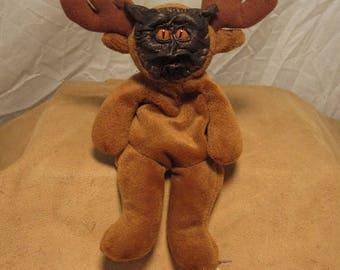 "Grichels G-Wok - ""Plabraph"" 31413 - bronze leather with poppy orange slit pupil reptile eyes"