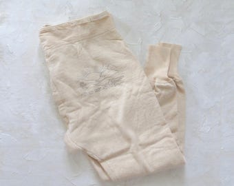 "Vintage Terrycloth Lined ""Eskimo"" Sweat Pants"