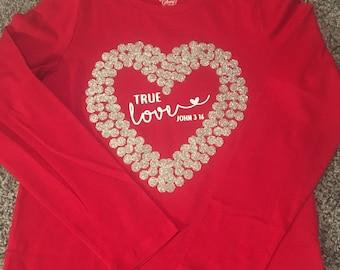 Girl's True Love Shirt