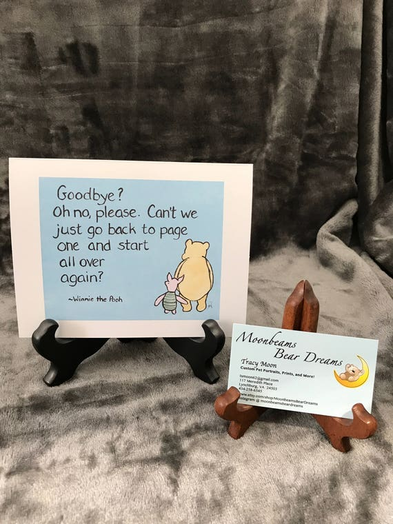 Moving card greeting card classic winnie the pooh love you m4hsunfo
