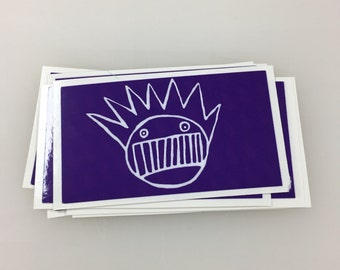 Purple Ween Sticker or Magnet
