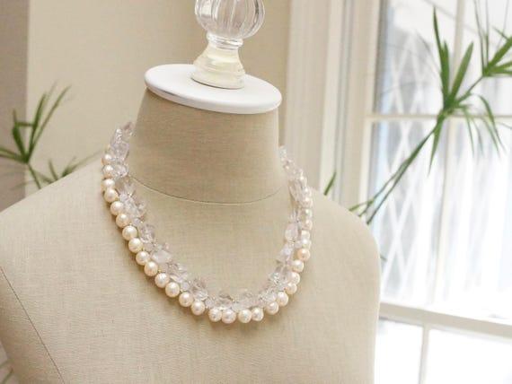 Wedding jewelry - Raw gemstone necklace