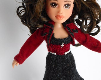 Made under repaint recycled Bratz doll - Minka's Kids Leah