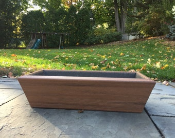 Light Brown Outdoor Planter