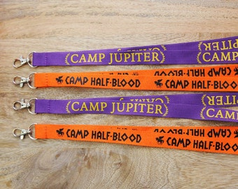 Geeky Greeky (and Roman) FANDOM LANYARDS!- whose side are you on??  Flaunt your Camp with these fandom lanyards.
