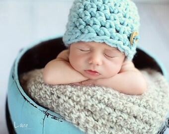 Newborn Baby Blanket Photography Prop Super Soft Photo Prop Basket Filler Basket Stuffer Prop