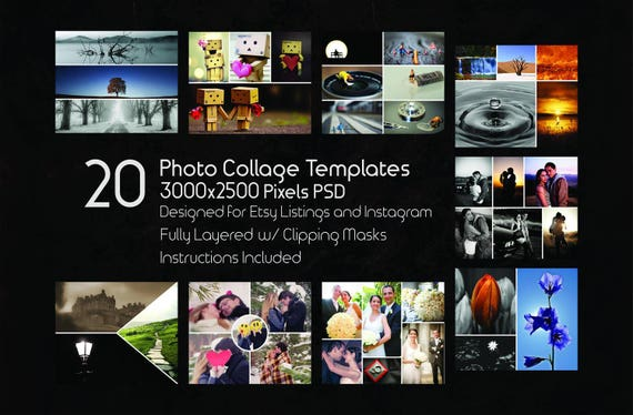 photoshop collage psd