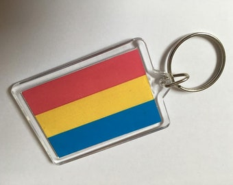 Pansexual Keyfob Keyring