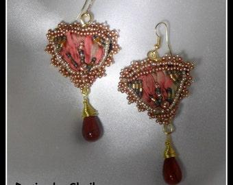 Autumn Forest - Beaded Earrings