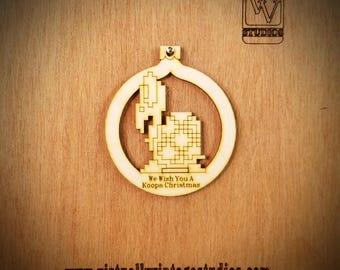 Koopa Cutout Ornament