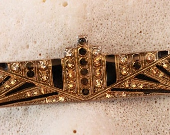 Vintage ART DECO BAR Pin,Beautiful!