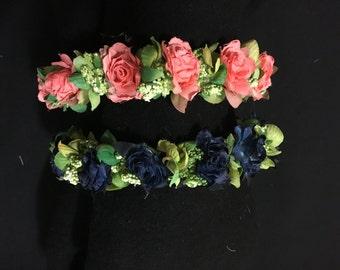 Custom Floral Headbands