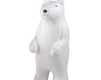 T-lab polepole animal parent and child Polar bear parent