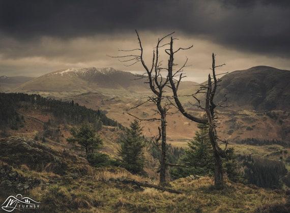 Blencathra from Raven Crag [Photographic Print]