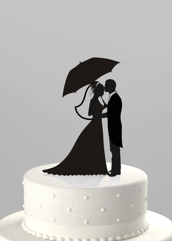 silhouette cake topper items similar to wedding cake topper silhouette groom 7369
