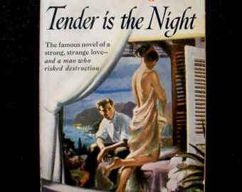 Tender is the Night by F. Scott Fitzgerald, pulp edition (Bantam, 1950)