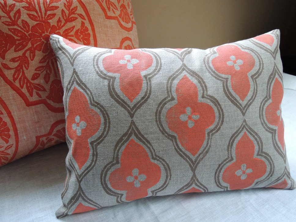 cotton pillow images burlap x decor etsy pinterest by best pillows coral on pineconeshoppe lumbar