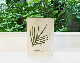 Jungle Brake Fern: Greeting Card