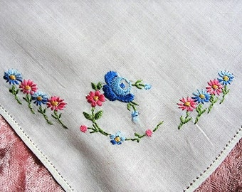 Custom Embroidered Wedding Hankies Handkerchiefs Dad Father of Bride Gifts  Favors Daddy Hanky Embroidery Personalized