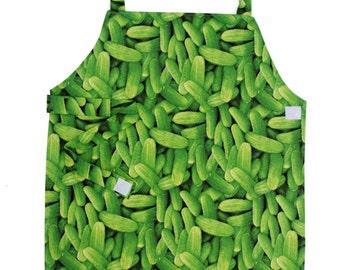 Cucumber Apron - Toddler & Primary