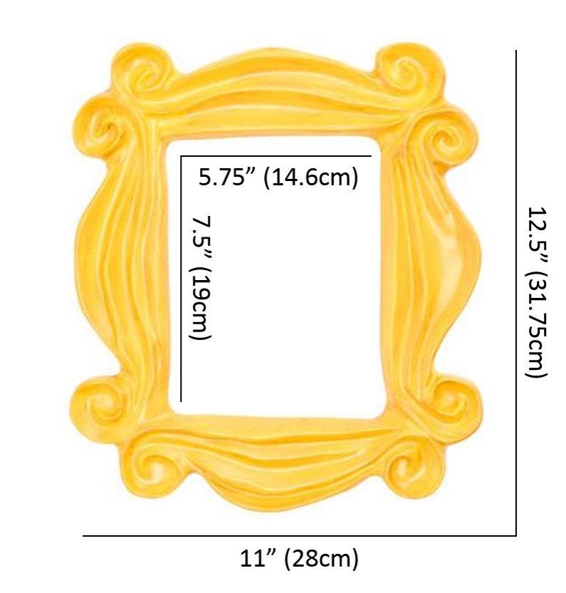 Handmade Yellow Peephole Frame as seen on Monica\'s Door on Friends ...