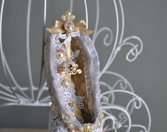 Dreamy Cinderella Pointe Shoe for a cause- cure NF
