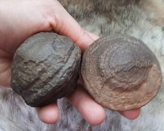 Extra Large Shaman Stones Male and Female Set/Moki stones/Moqui Balls/Thunderballs/Navajo Cherries | Pagan Crystals/Reiki Charged