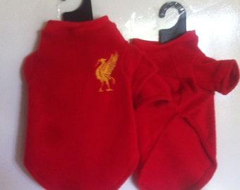 Liverpool FC Polar Fleece Dog Coat