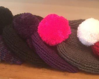 Winter wool cap