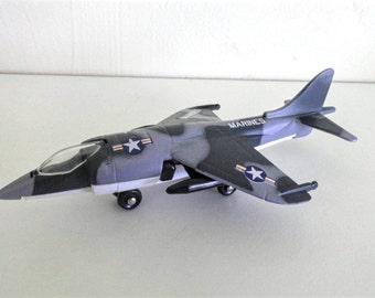 Vintage Matchbox Harrier Marines Airplane
