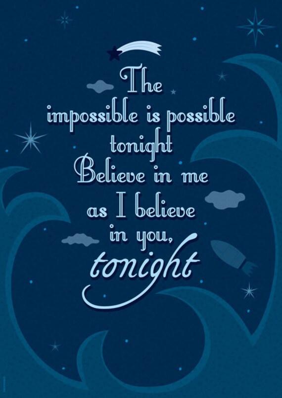 From tonight, tonight