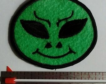 Vintage Alien Patch Hippie Patch