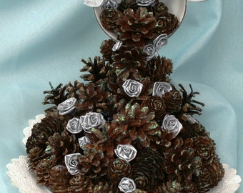 Pine Cone Wedding Table Decoration