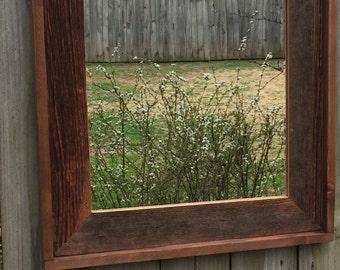 "23""x30"" handmade mirror"