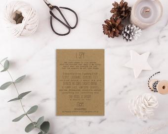 I Spy Wedding Game DEPOSIT - Printable, Custom - DIY Wedding - Vintage, Photo Challenge, Sketches, Hand Drawn, Hipster (Wedding Design #20)