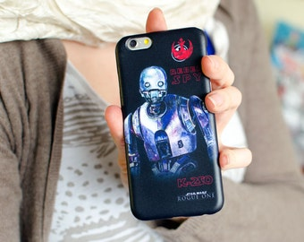 "StarWars 2016 Droid K-2SO ""Rebel Spy"" / iPhone, Samsung, other"